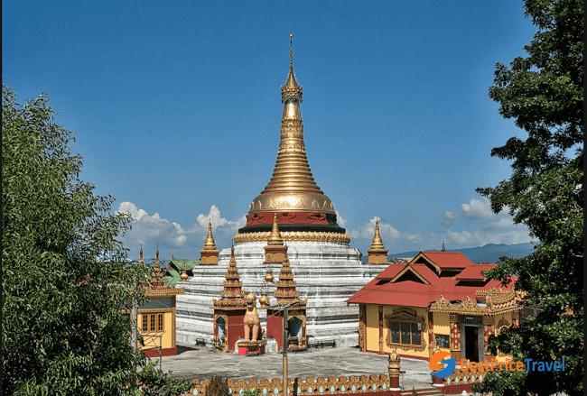 The Shwe Kyina Paya Temple