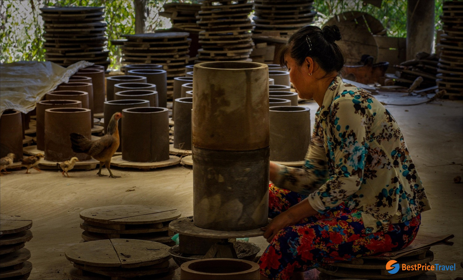 Pottery In Mang Thit