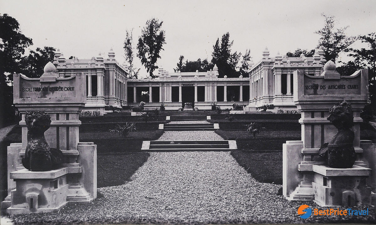 Cham Museum after the first construction in 1919