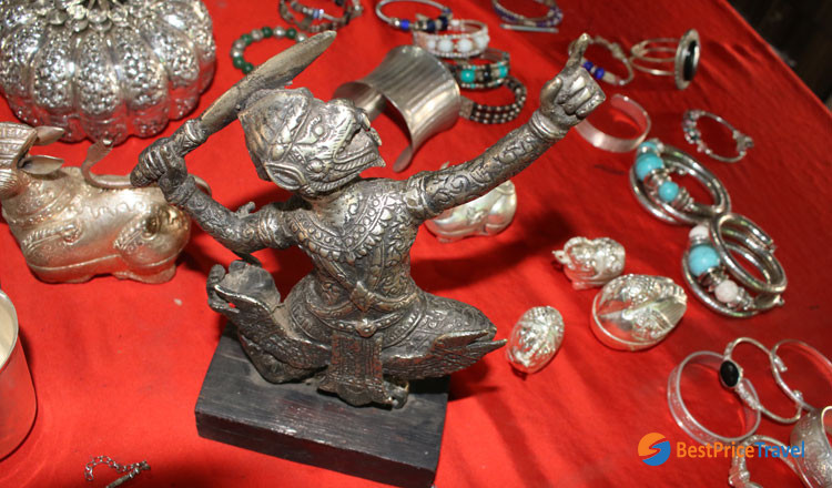 Silver products of Silversmith Village