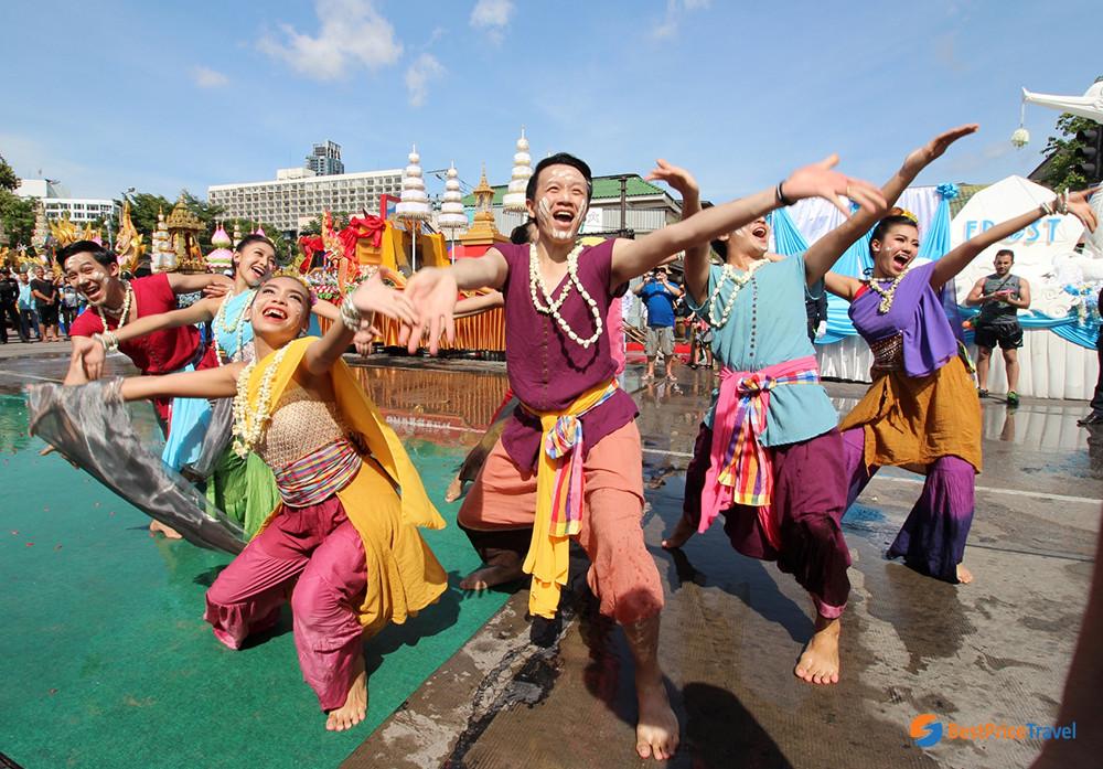 Songkran Festival in Pattaya