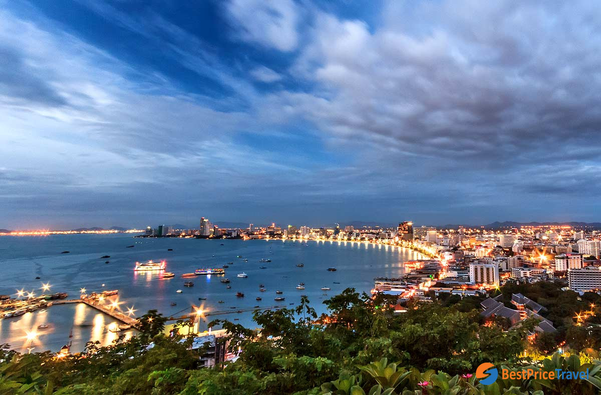 View from Khao Pattaya Viewpoint