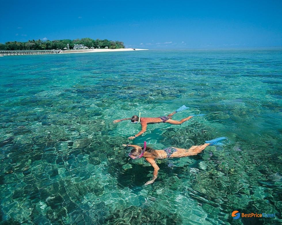 Snorkeling in Coral Island, Kohlarn