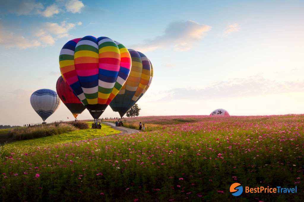 Balloon Festival in Singaha Park