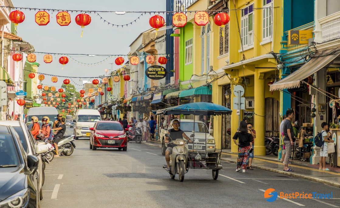 Sino-Portugese architecture in Phuket Town