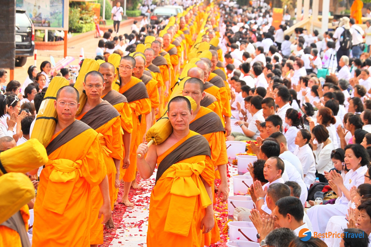 Buddhism is the state religion in Thailand