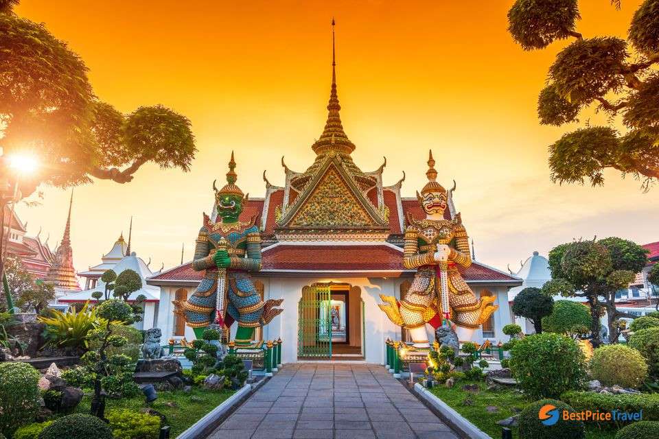 Thailand is home to many stunning Buddhist temples