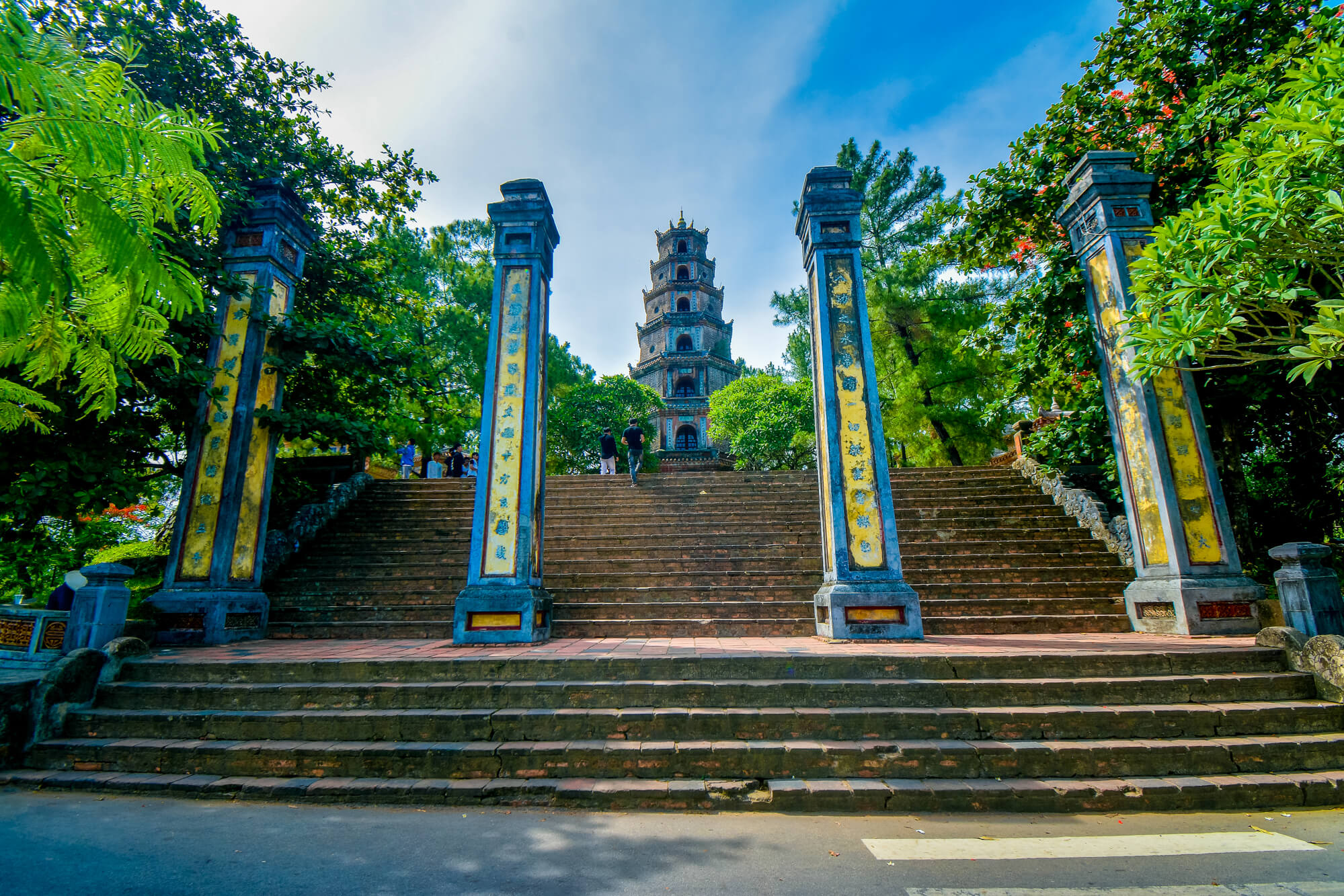 Main Gate of Thien Mu Pagoda