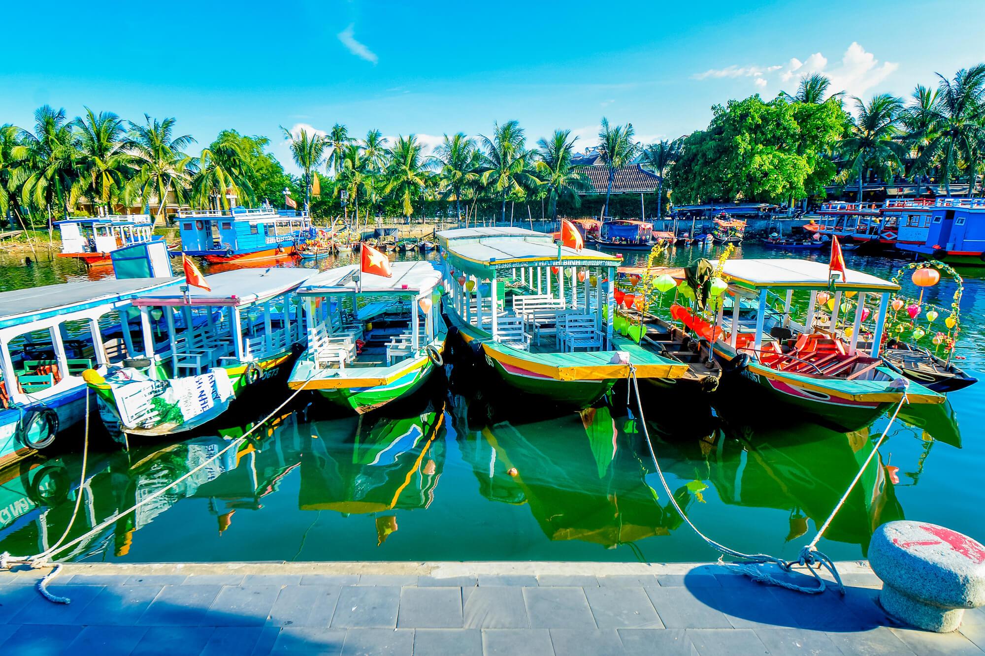 Thu Bon River Boat Dock