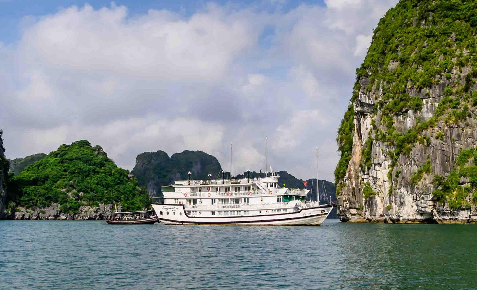 Cruise in Bai Tu Long Bay