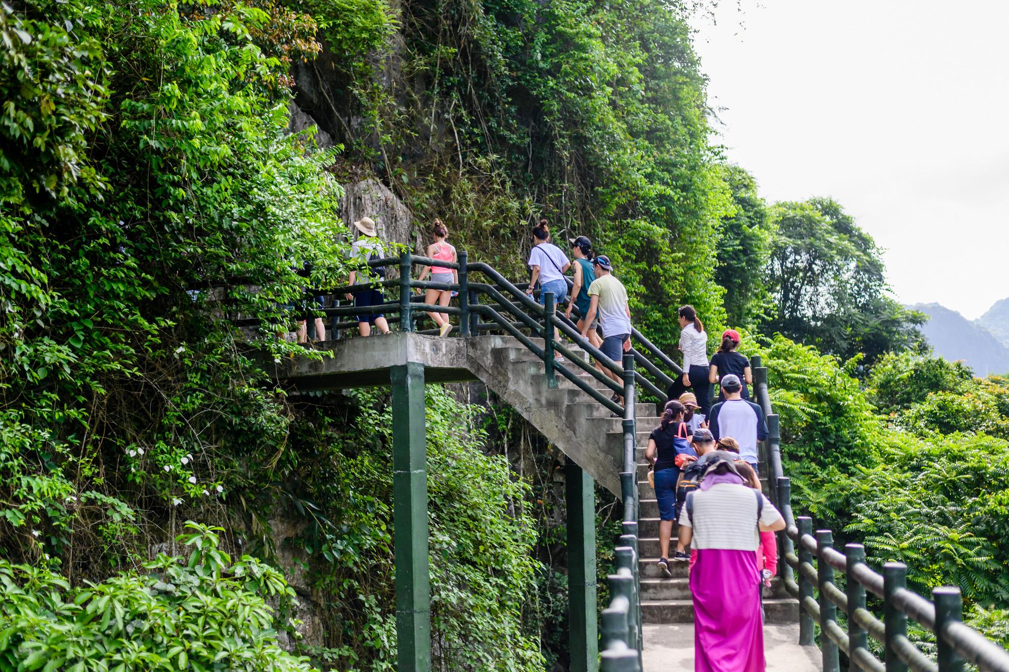 Visit Cave in Cat Ba Island