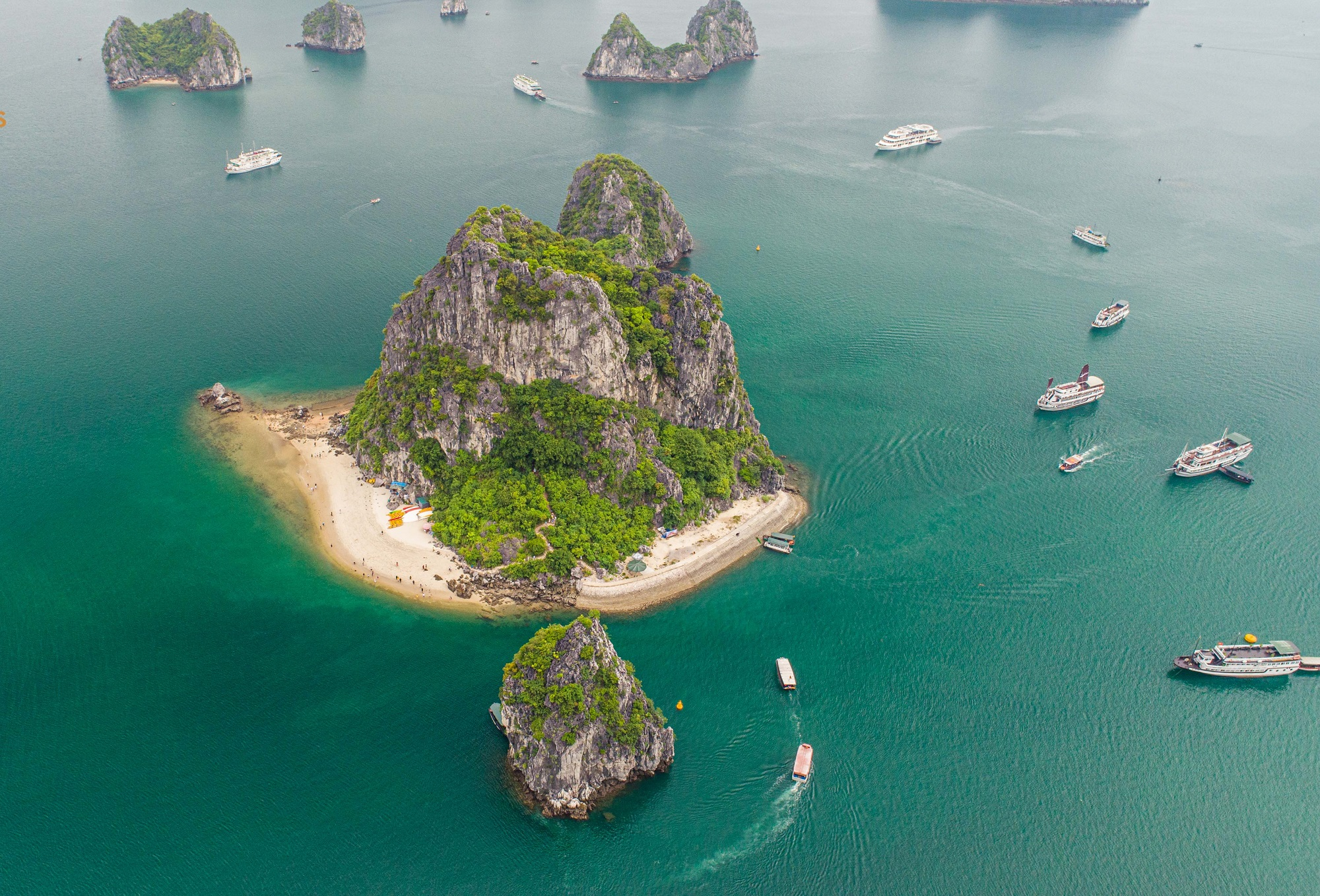 Titop Island in Halong