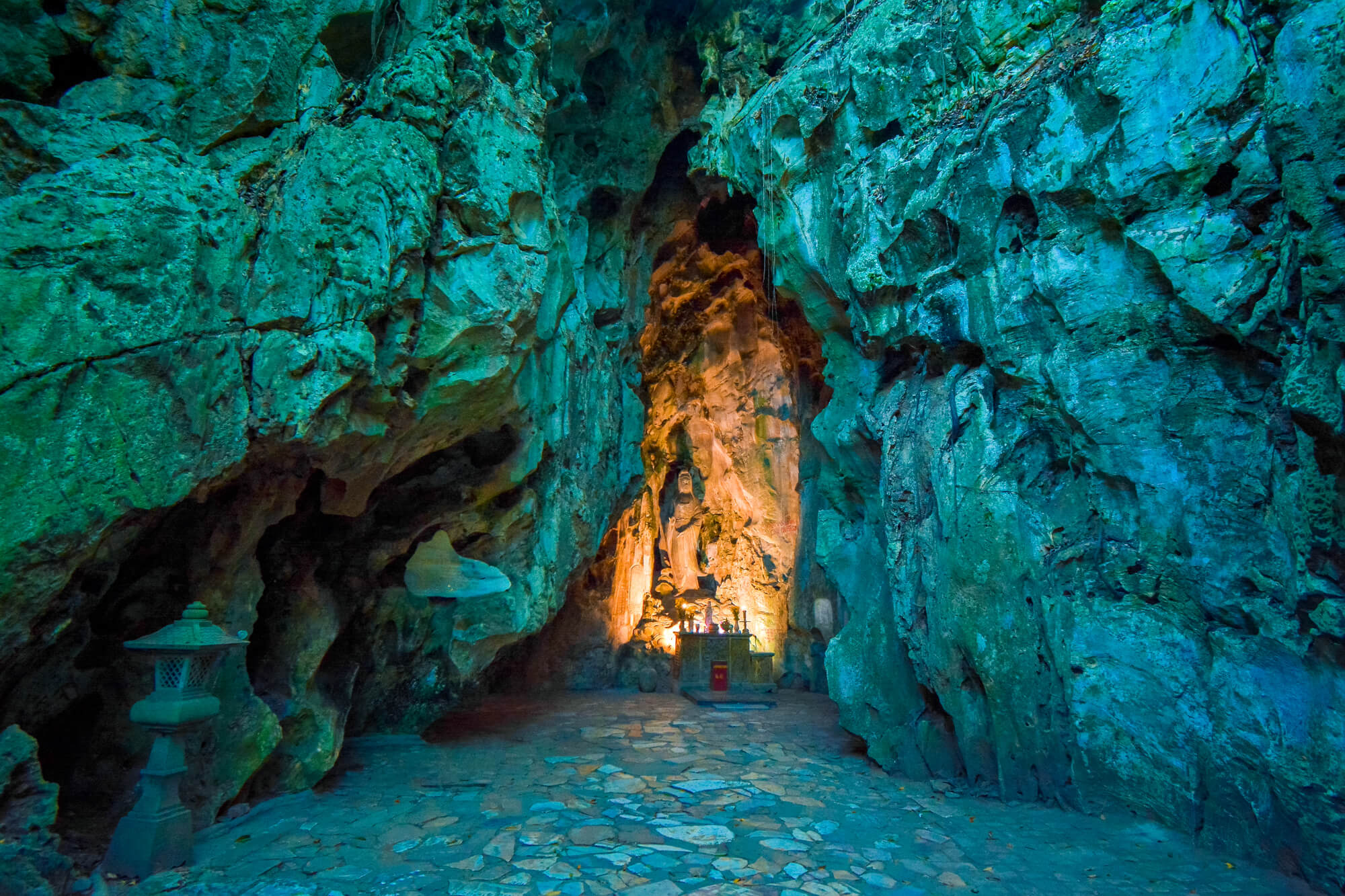 Marble Mountains Cave