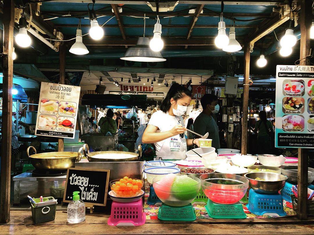 The night market in Hua Hin
