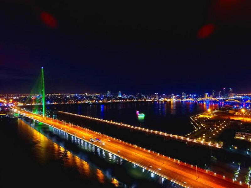 Da Nang city of bridges, Tran Thi Ly bridge