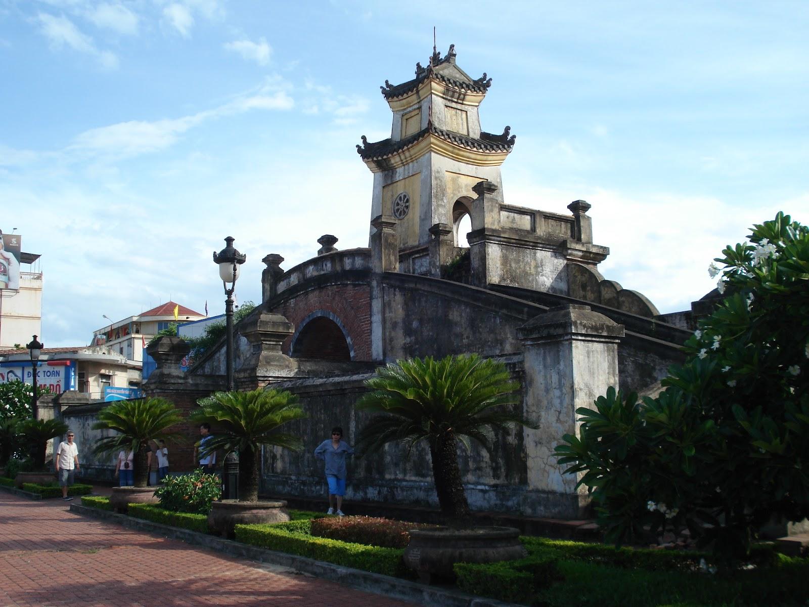 Quang Binh gate Dong Hoi