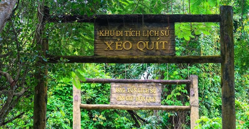 Xeo Quyt Historical Relic