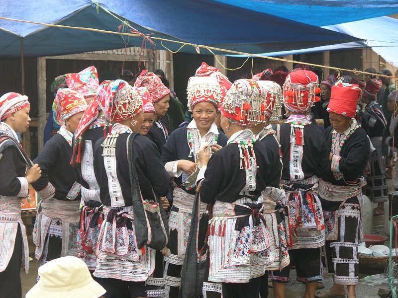The Colorful Clothes Of Ethnic Minority