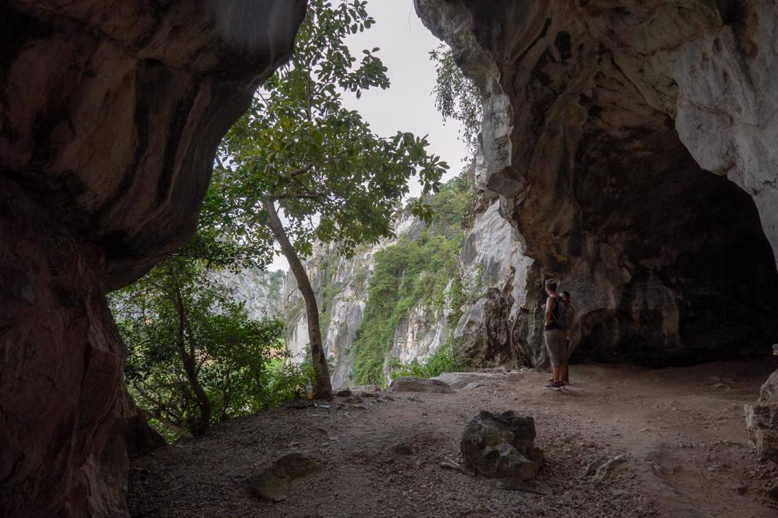 Exploring The Cave