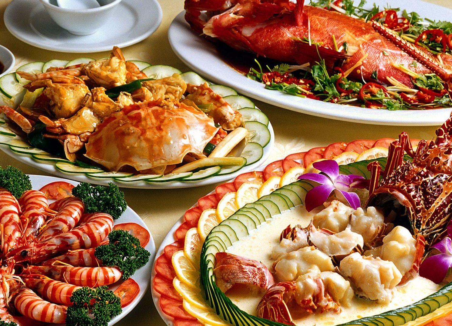Seafood is best to taste in Tuan Chau
