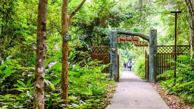 Trung Trang cave Entrance