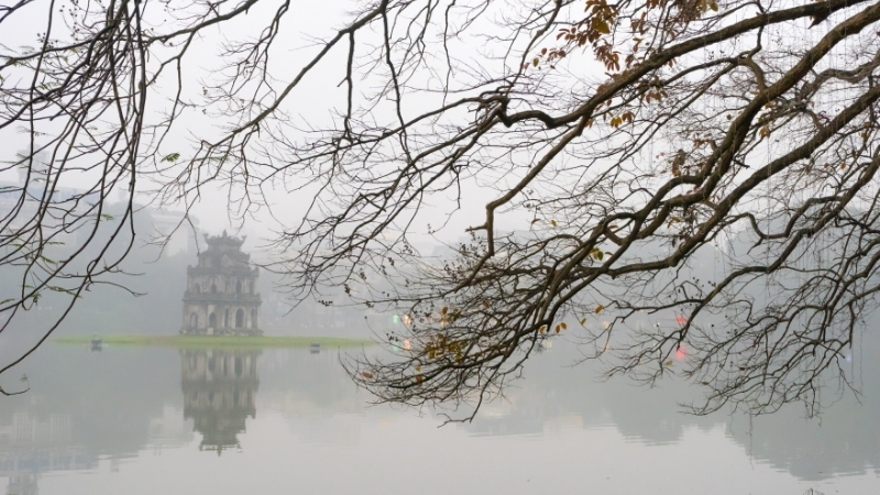 Hoan Kiem Lake in Winter