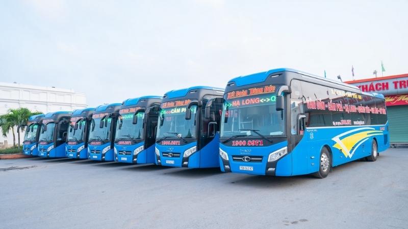 Bus to Bai Chay