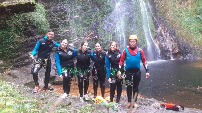 Amazing activities in Love waterfall