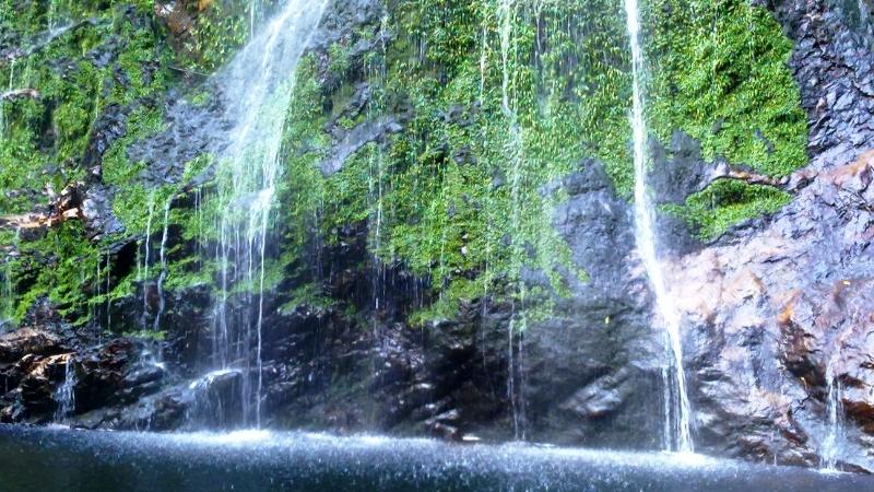 Beautiful Sapa Love waterfal