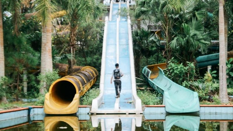 Visit Thuy Tien waterpark