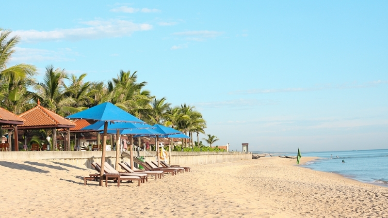 Beautiful Thuan An Beach