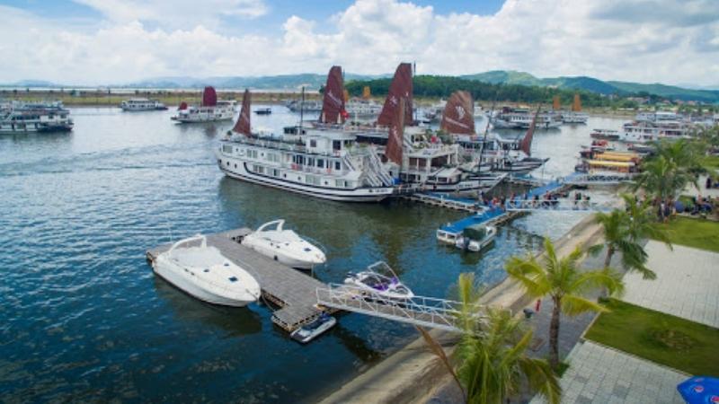 Halong Bay cruise depart from Tuan Chau Pier