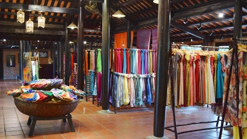 Buy souvenirs at Silk Village shop