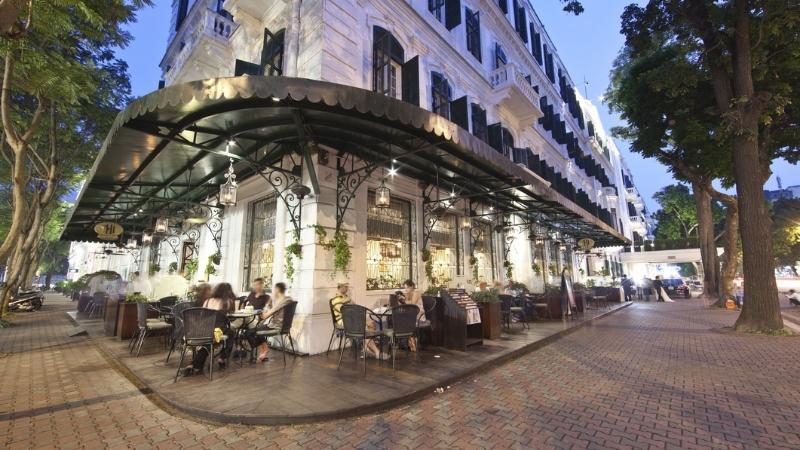 Restaurant at Hanoi French quarter