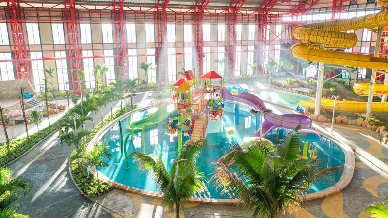 Kid pool in Da Nang water park