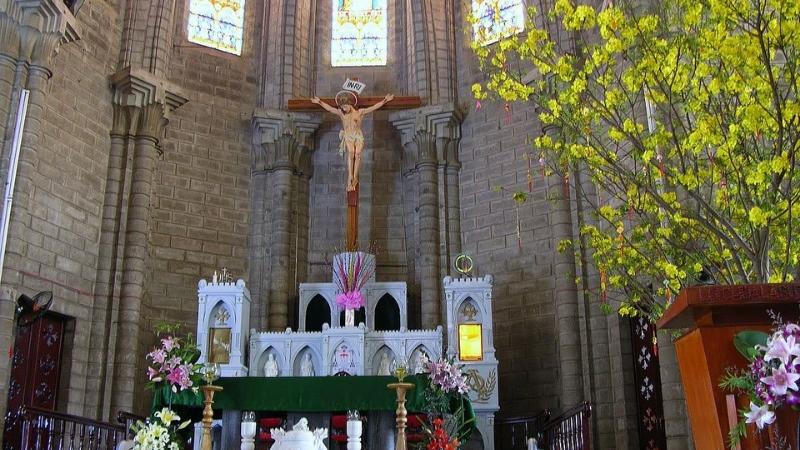Inside Nha Trang Cathedral