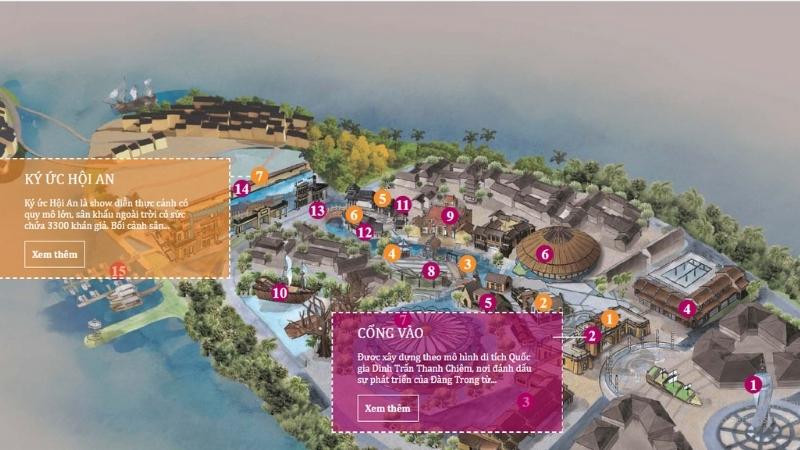 Hoi An impression park maps