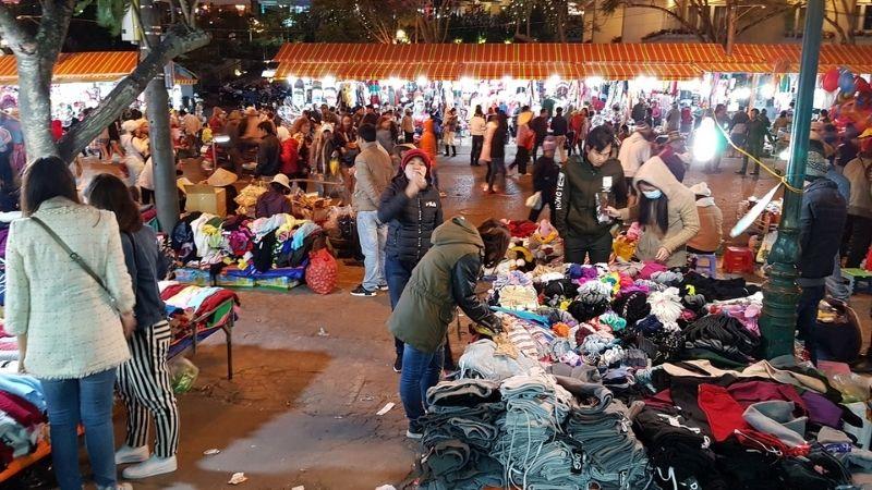 Shopping clothes in Da Lat