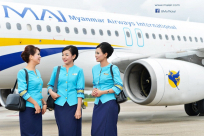 Average air-fares for domestic flights in Myanmar