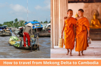 How to travel from Mekong Delta to Cambodia