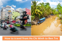How to travel from Ho Chi Minh to Ben Tre