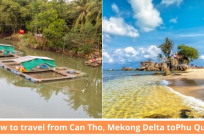 How to travel from Can Tho, Mekong Delta to Phu Quoc