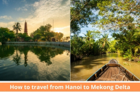 How to travel from Hanoi to Mekong Delta