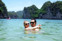 Halong Bay Swimming