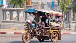 Laos local Transportation
