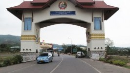 Land border between Laos and Thailand, Vietnam and Cambodia