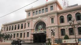 Saigon Central Post Office - The 'Eiffel' Post Office