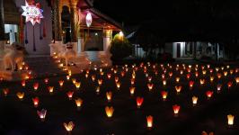 Awk Phansa Day - The Festival of Lights in Laos