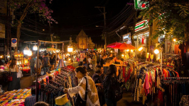 Amazing Experience at Sunday Night Market in Chiang Mai