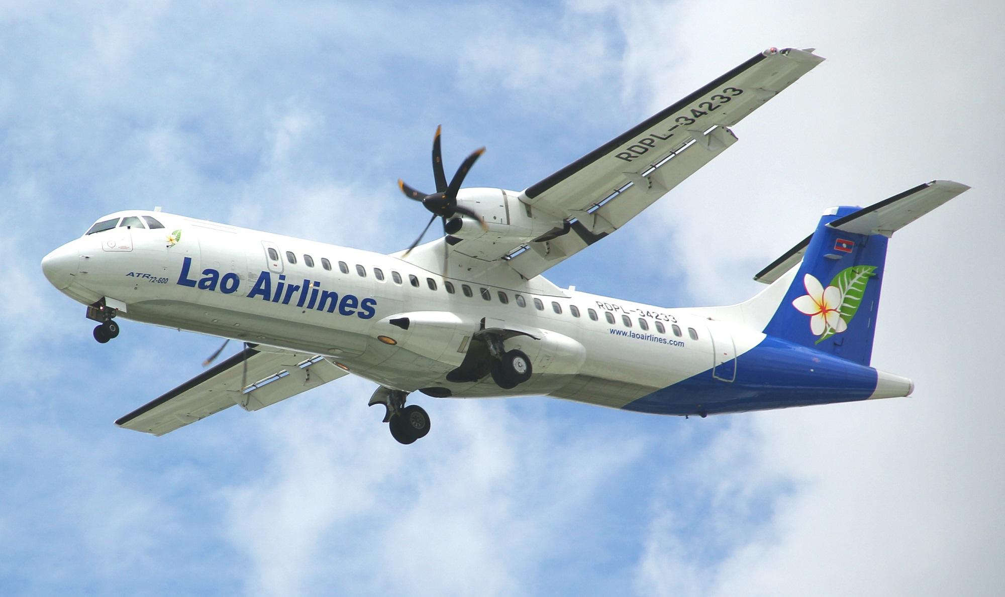 Laos Airlines Plane